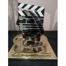 HOLLYWOOD CLAP BOARD AND REEL