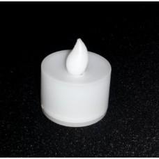 LED WHITE FLICKER TEA LIGHT