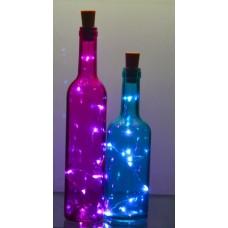 LED BOTTLE LIGHTS 10  - Pack of 6