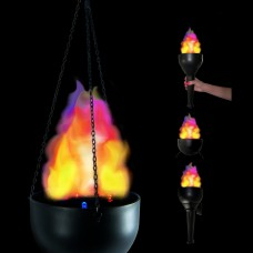 BATTERY OPERATED FLAME - 4-IN-1
