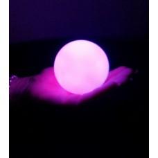 LED GLOW BALLS 8CM  (1 piece)
