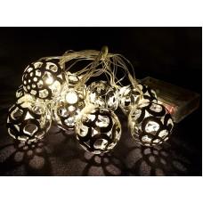LED BALL FAIRY LIGHT STRING