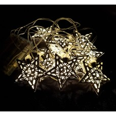 LED STAR FAIRY LIGHT STRING