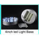 LED Light Base - Clear White - 10cm