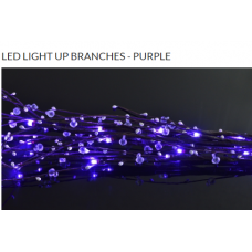 LED LIGHT UP BRANCHES - PURPLE
