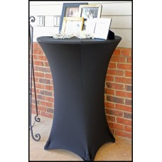 LYCRA DRY BAR COVER - BLACK