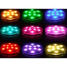 Submersible LED - 10 RGB
