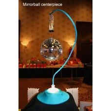 LIGHTED MIRROR BALL CENTREPIECE